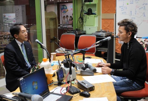 【連載第3弾】南海放送ラジオ番組「TIPS」でサントリー松山支店の社員が「のんある気分〈愛媛いよかんサワーテイスト〉」をご紹介しました!