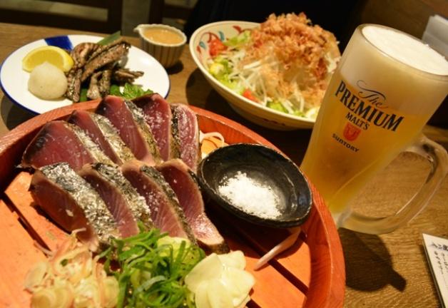 「ジ アウトレット 広島」で高知直送の新鮮な鰹を味わおう♪「土佐わら焼き 龍神丸」