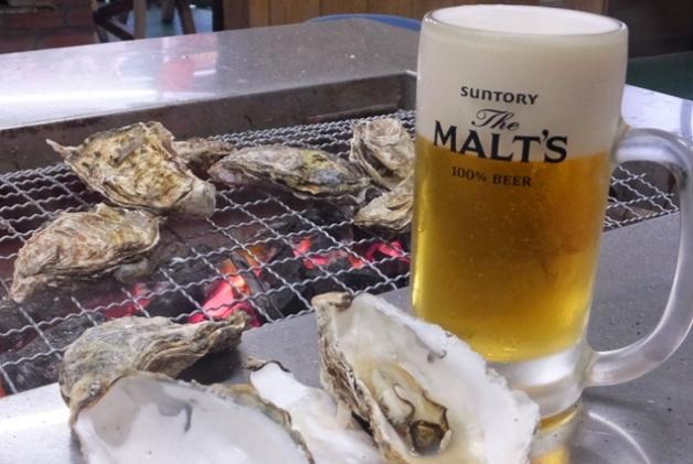 牡蠣シーズン到来!虫明湾の炭焼き牡蠣食べ放題 「とれたて漁師の店 稲荷丸」へ行こう♪