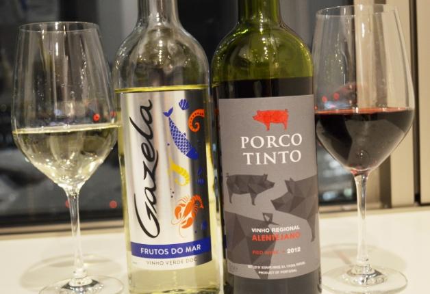 【担当者おすすめの新商品】魚介専用白ワイン「ガゼラ」と肉専用赤ワイン「ポルコ ティント」♪海山の幸とご一緒に!