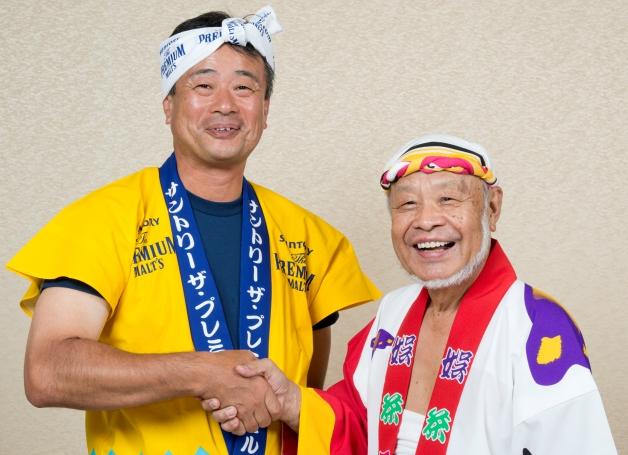 阿波おどり「サントリー連」は今年で40年♪娯茶平連とともに歩んできた歴史を岡連長に伺いました!