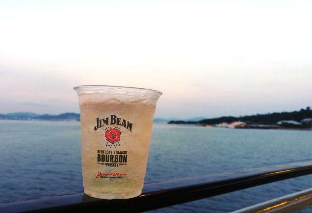 (終了しました)【まだ間に合う!】瀬戸内海・宮島を望む絶景クルージング「船上ハイボールガーデン」♪第1回は満員御礼でした!