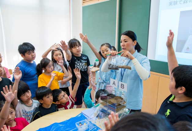 【鳥取県内の小学校が対象】サントリー水育「出張授業」の参加校を募集します!