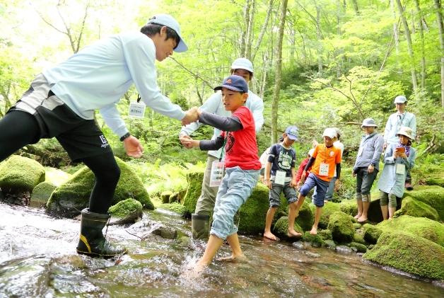 (終了しました)【7~8月開催!】水のうまれる森に遊びに行こう!サントリー水育(みずいく)「森と水の学校」奥大山校に参加してみませんか?