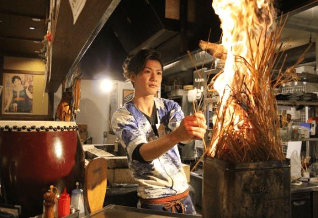 【山口・宇部】迫力満点の「小次郎名物 鮮魚のわら焼き」は必見!「炉端 小次郎」で「プレモル」と魚介を堪能しよう♪