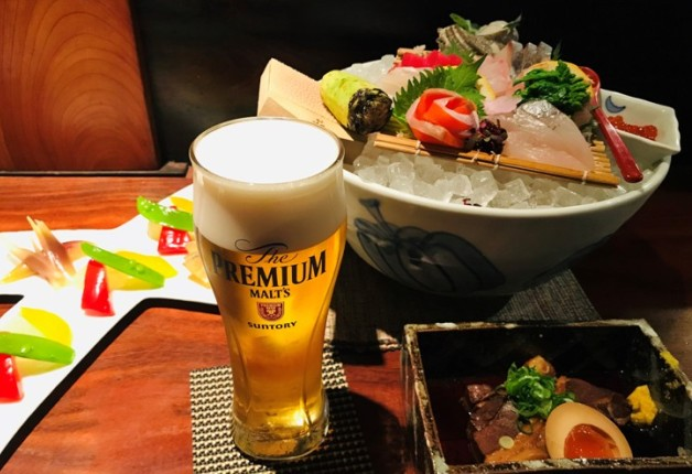 【松江】「てまひま料理 根っこや」で山陰の海の幸・山の幸と「プレモル」を堪能しよう♪