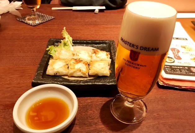 【香川・高松】形と中身がユニークな「四角家餃子本舗」の四角い餃子と「マスターズドリーム」を楽しもう♪
