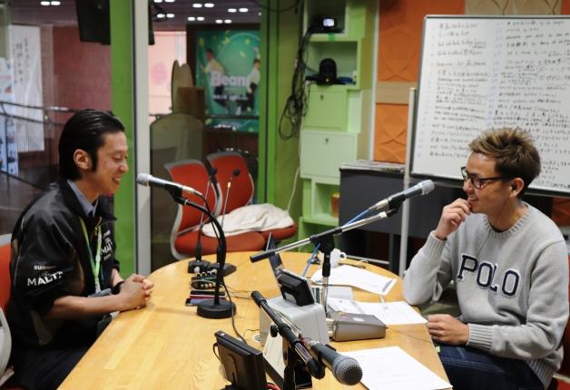 【連載第10弾】南海放送ラジオ番組「TIPS」 でサンリーブ四国支店の社員がSUNTORY WORLD WHISKY「碧Ao」をご紹介しました!