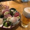 【プレミアム超達人店】広島市の「漁師屋台 がっつり」でこだわりの旬魚と「ザ・プレミアム・モルツ」を味わおう♪
