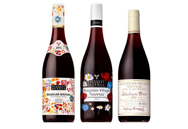 3本のワイン