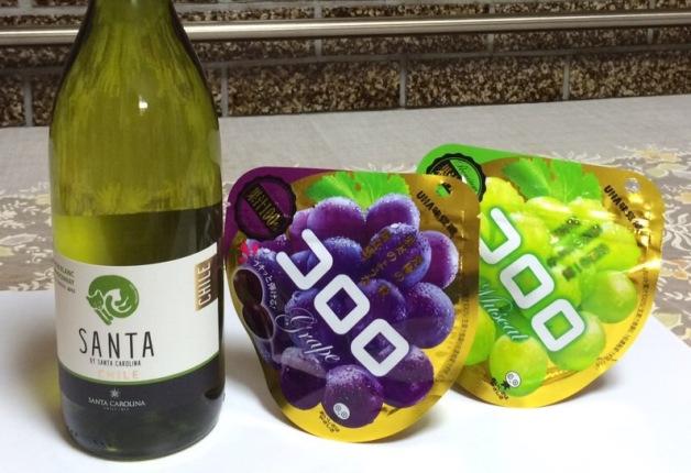"""【注目の楽しみ方】""""コロロのワイン漬け""""は「サンタ バイ サンタカロリーナ」で♪一晩つければ完成☆"""