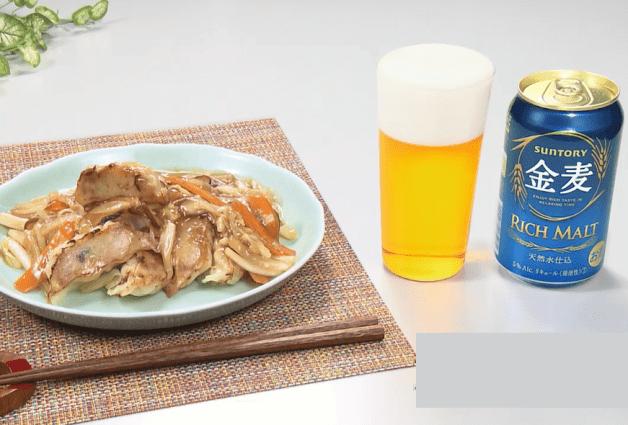 【「金麦」幸せレシピでカンパイ!】具だくさんのとろとろあんかけが絶品「焼き餃子の野菜あんかけ」