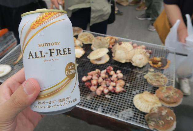 【北海道おつまみ探し珍道中】第9回目は増毛(ましけ)町「増毛 秋の味まつり 」で海鮮焼きを楽しみました