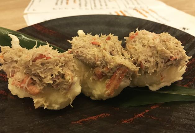 【すすきの】新感覚おつまみ「寿司天」は絶品!道産食材にこだわった居酒屋「かわず池(かわずや)」