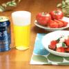 【「金麦」と合うお惣菜】太陽の恵みをたっぷり浴びたトマトを使った「トマトと豆腐の塩昆布和え」