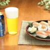 【「金麦」と合うお惣菜】サーモンの握り・巻き寿司・炙りを一皿で味わえる!「サーモンづくし」