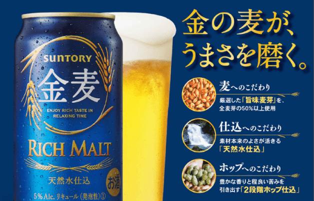 (終了しました)さらにおいしくなった「金麦」を飲んで地元スーパーの商品券を当てよう!