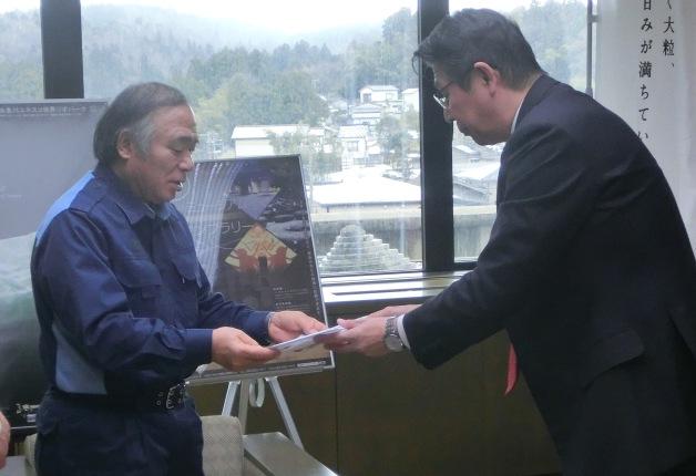 2月21日「糸魚川市駅北大火」への義捐金を100万円寄付しました