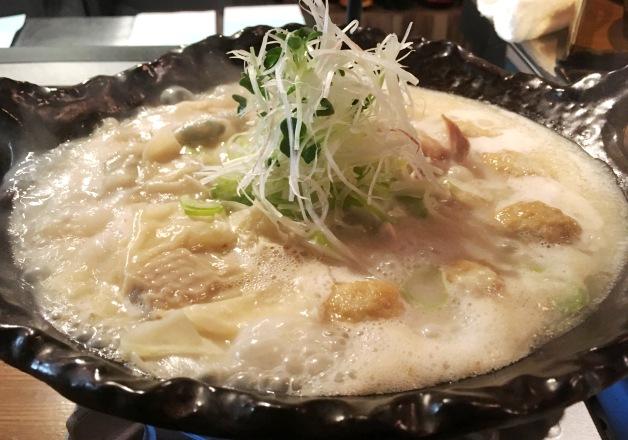 【東武宇都宮駅からすぐ】居酒屋「つむぎ」でこだわりの「鶏白湯の鳥炊き鍋」と「プレモル」を楽しもう♪