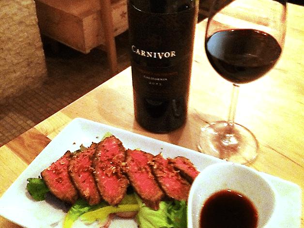 【担当者おすすめ!】京都エリアでおいしい料理とワインが楽しめる「ステーキバル プラチナビーフ」