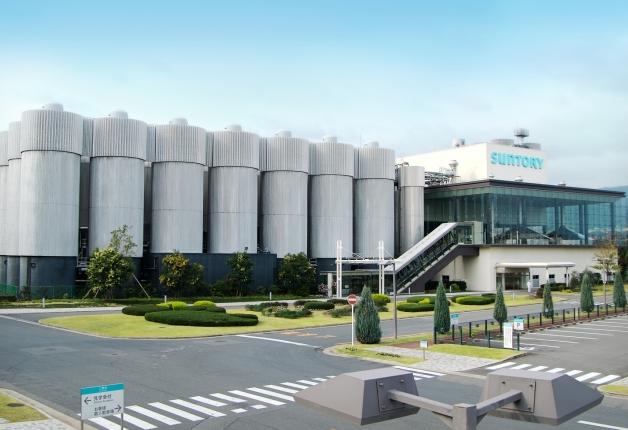 サントリー京都ビール工場外観