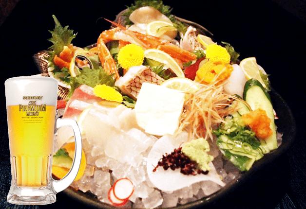 【京都の超達人店】鮮度に自信!旬のお造りや地元有機野菜をプレモルと満喫「旬と感の店 乱」