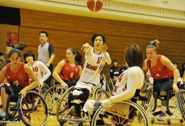 (終了しました)【一緒に応援しよう♪】2017 国際親善女子車椅子バスケットボール大阪大会開催!