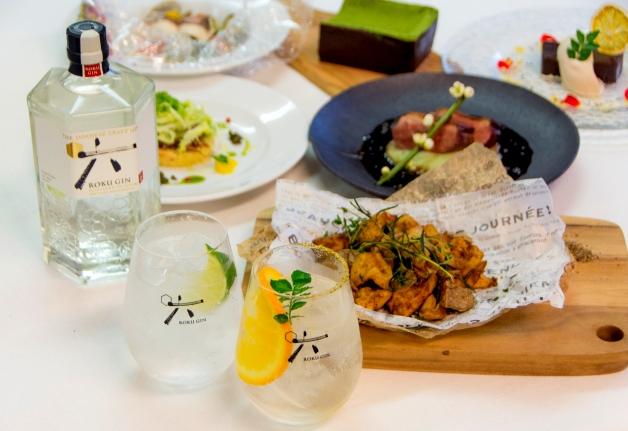 【4月24日】ジン×フレンチの贅沢なペアリング♪中之島「FIFTH SEASON(フィフスシーズン)」で「ROKU」を味わうイベント開催