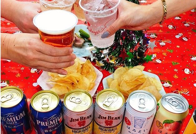 """手軽に楽しめる!「ドン・キホーテ」の惣菜とサントリーのお酒で""""おうちクリスマス"""""""