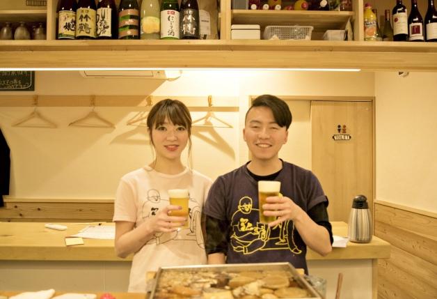 新鮮な魚介を使った和食居酒屋「弘大Z」!「プレモル」やハイボールと和食を味わおう(大阪・福島)