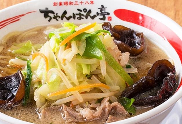 近畿エリアで人気の「ちゃんぽん亭総本家」!「近江ちゃんぽん」と「プレモル」を味わおう♪