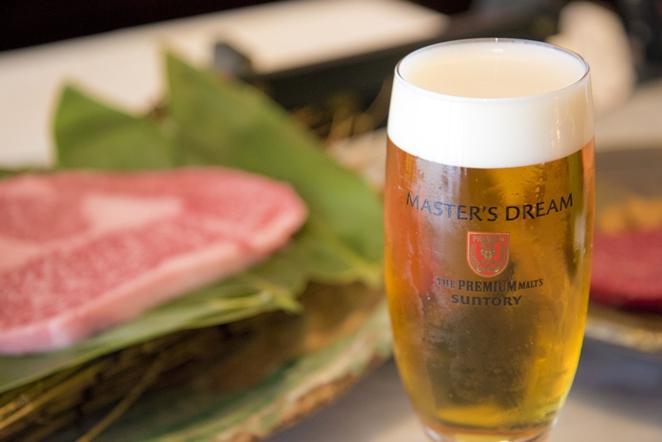 「蔓牛(つるぎゅう)」の上質なお肉と「マスターズドリーム」で贅沢なひとときを♪(大阪・瓦屋町)