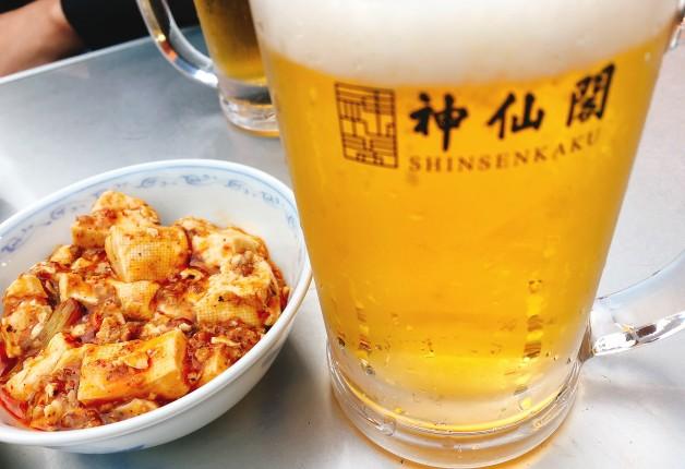 【9月7日まで】夏は「神仙閣ビアガーデン」の本格中華と「〈香る〉エール」で盛り上がろう!(大阪・梅田)