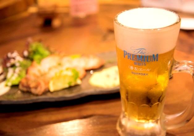【ライター山﨑の今夜も酒場ラバー!】「〈香る〉エール」で旬の野菜に華をそえる「福島金魚」(大阪・福島)