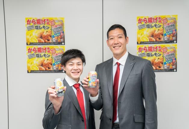 「サントリーサンバーズ」選手もおすすめ!「-196℃ストロングゼロ<から揚げ専用塩レモン>」が期間限定で新発売します!