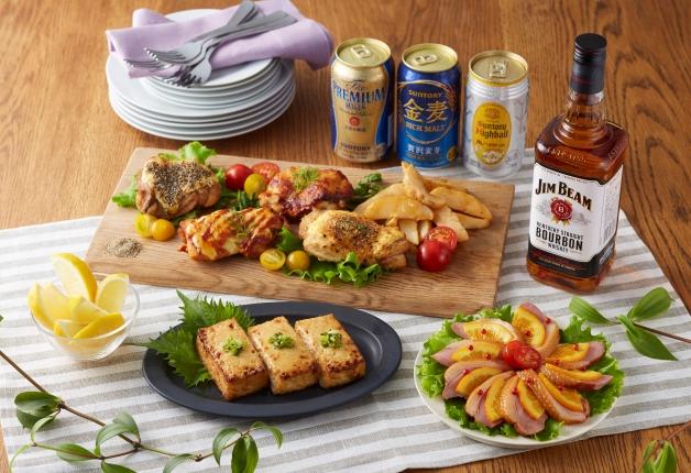 【サントリー×イオン共同開発】イオン近畿限定の絶品お惣菜とサントリー商品で家呑みを楽しもう♪
