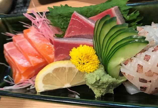 「寿司居酒屋 たなか」で新鮮な魚介と「ザ・モルツ」や「翠ジンソーダ」を堪能しよう♪(大阪・心斎橋)