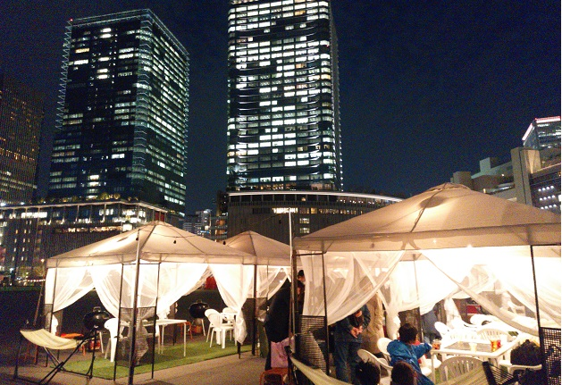 【大阪・梅田】都会のど真ん中で本格的なグランピングが楽しめる♪「ウメキタ!!!BBQ GLAMPING PARK」