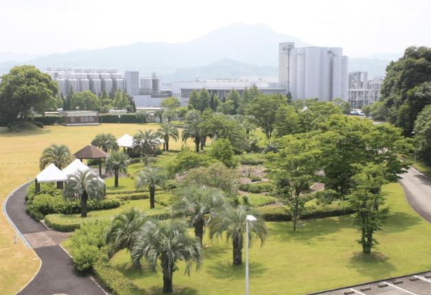 九州熊本工場が工場緑化推進全国大会にて「経済産業大臣賞」を受賞