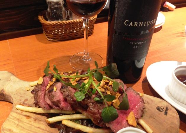 【肉専用黒ワイン「カーニヴォ」って?】鹿児島「ビストロ ル ギュウドウ!」で「さつま福永牛」ステーキと楽しもう♪
