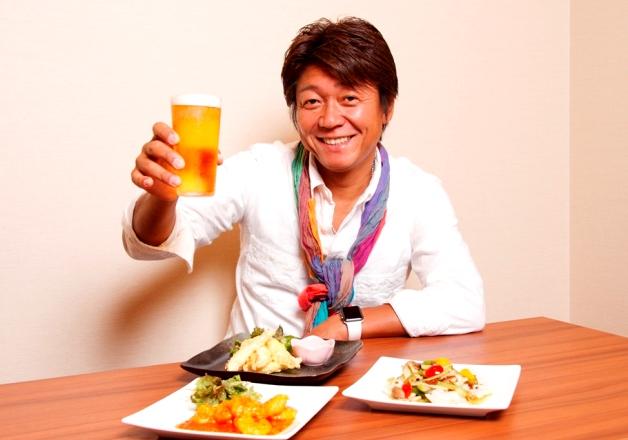 【プレモル大使DJ EIJIの活動日記】「菜食健美彩」で新鮮野菜の中華料理とプレモルを堪能