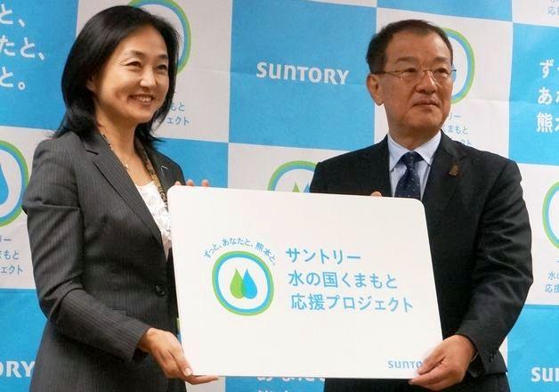 2016年熊本地震復興支援「サントリー水の国くまもと応援プロジェクト」開始