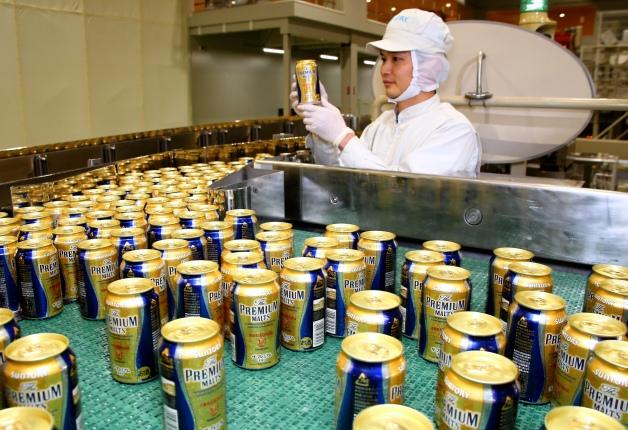 サントリー九州熊本工場から「ザ・プレミアム・モルツ」缶の出荷が再開!