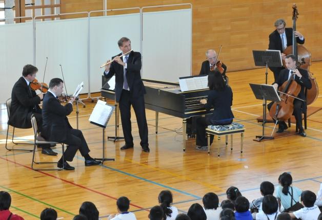 (終了しました)【参加無料】4月14日熊本県庁・熊本城でウィーン・フィル楽団員の演奏会を開催します