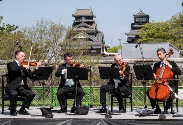 【サントリー水の国くまもと応援プロジェクト】ウィーン・フィルハーモニー管弦楽団メンバーによる復興祈念公演を開催しました!