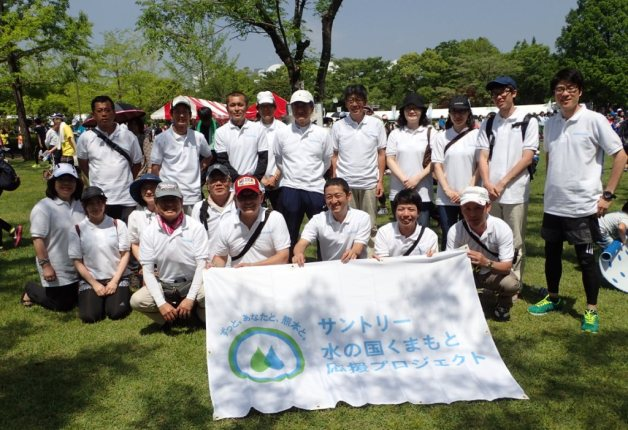 【サントリー水の国くまもと応援プロジェクト】「第25回 益城町ジョギングフェア」従業員ボランティアを実施しました!