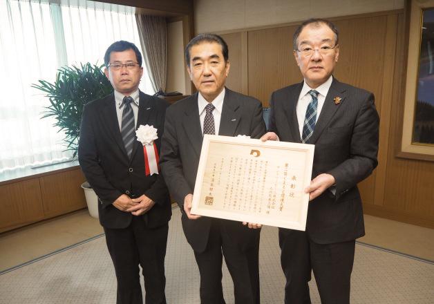 【サントリー水の国くまもと応援プロジェクト】サントリー九州熊本工場が「第2回くまもと環境大賞」を受賞しました