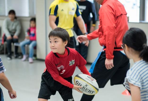 【イベントレポート】サンゴリアスが熊本にやってきた!親子タグラグビー教室を開催しました!