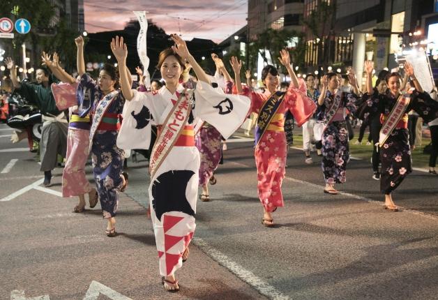 (終了しました)【8月3日~5日】「プレモル」や「ビームハイボール」を片手に盛り上がろう!熊本の夏の風物詩「火の国まつり2018」