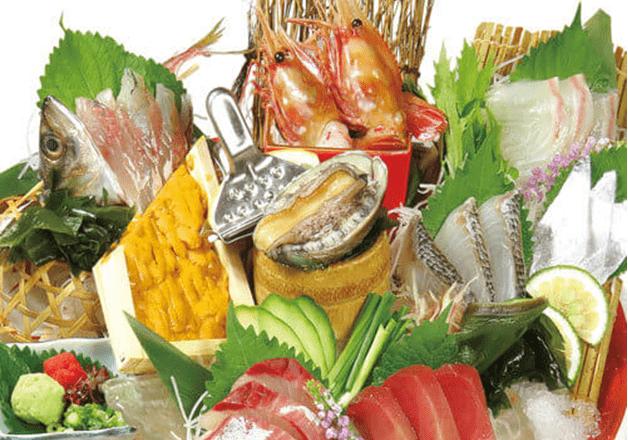 【福岡・天神】水産卸業直営の「おとなの大漁旗 天神店」で、鮮度抜群の魚介を楽しもう!